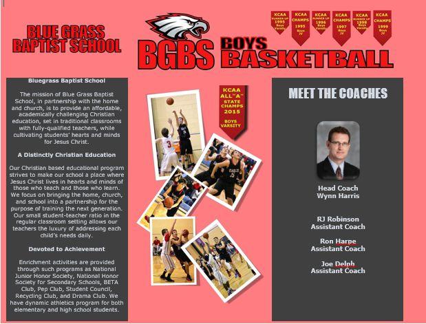 BGBS Basketball