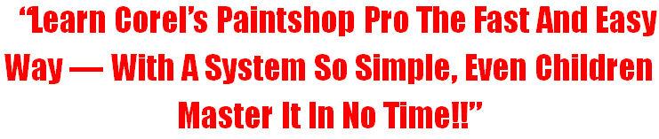 PaintShop Headline