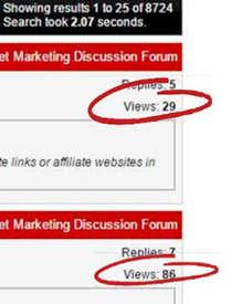 warrior forum views