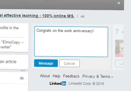 email opt in linkedin