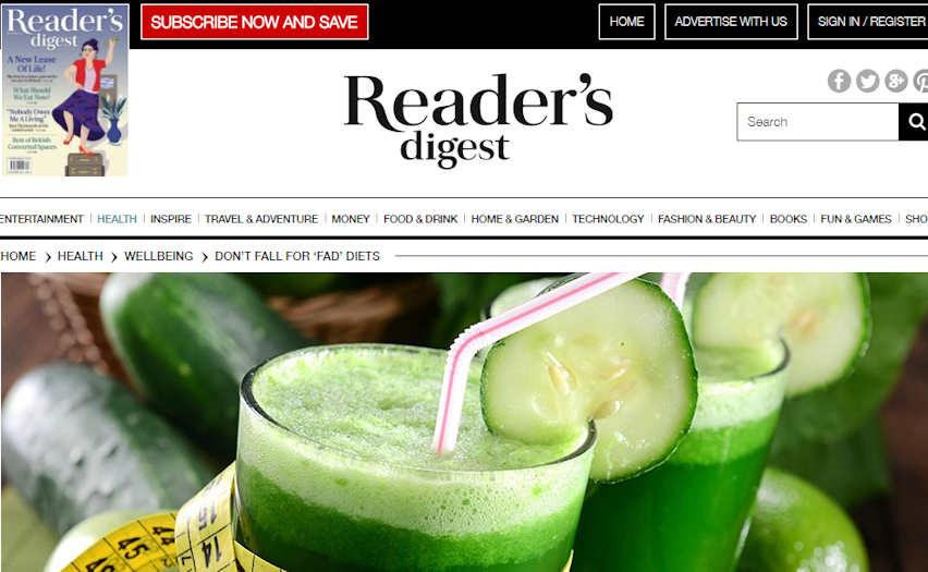 Reader's Digest Online