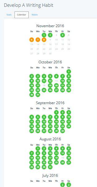 copywriting schedule