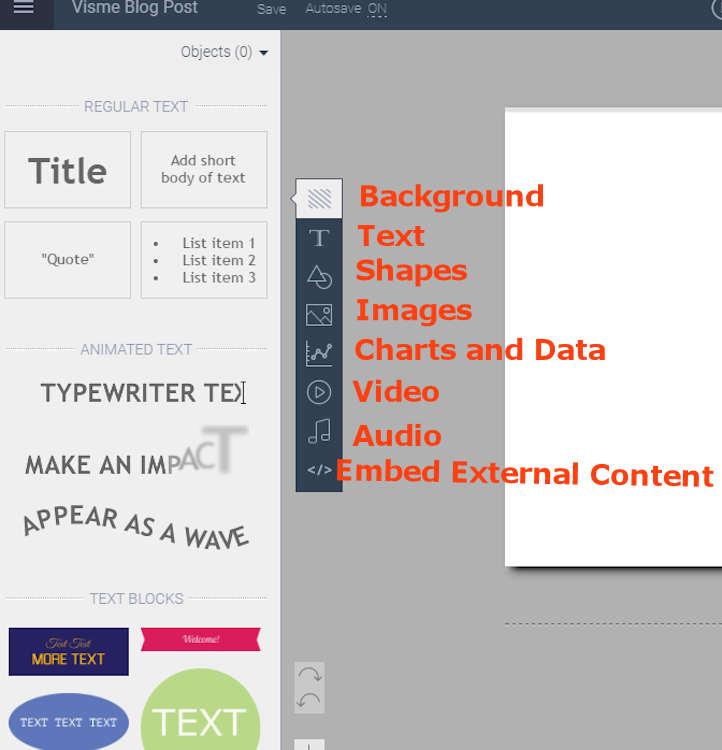 viseme tool bar and interface