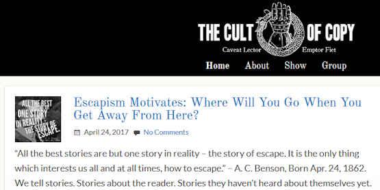 cult of copy copywriting
