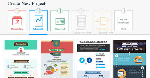 create infographics with visme