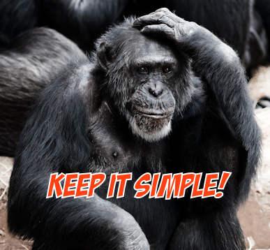 keep writing simple