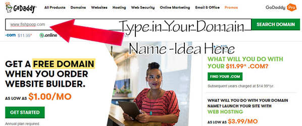 how to create a blog on godaddy